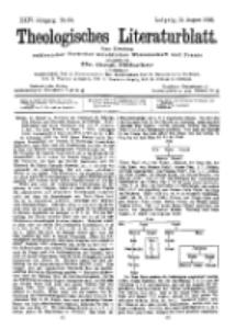 Theologisches Literaturblatt, 21. August 1903, Nr 34.