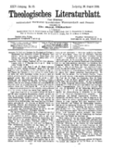 Theologisches Literaturblatt, 28. August 1903, Nr 35.