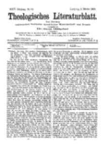 Theologisches Literaturblatt, 2. Oktober 1903, Nr 40.