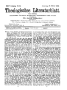 Theologisches Literaturblatt, 30. Oktober 1903, Nr 44.