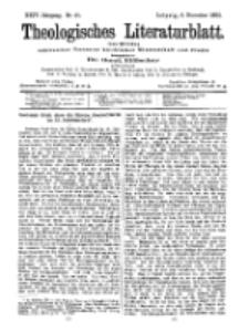 Theologisches Literaturblatt, 6. November 1903, Nr 45.