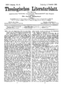 Theologisches Literaturblatt, 4. Dezember 1903, Nr 49.