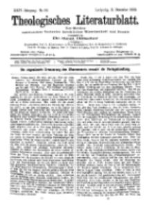 Theologisches Literaturblatt, 11. Dezember 1903, Nr 50.