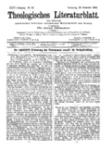 Theologisches Literaturblatt, 25. Dezember 1903, Nr 52.