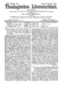 Theologisches Literaturblatt, 29. Januar 1904, Nr 5.