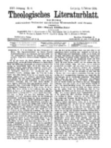 Theologisches Literaturblatt, 5. Februar 1904, Nr 6.