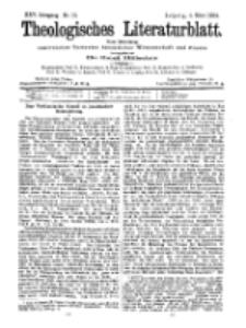 Theologisches Literaturblatt, 4. März 1904, Nr 10.