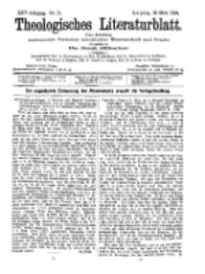 Theologisches Literaturblatt, 18. März 1904, Nr 12.