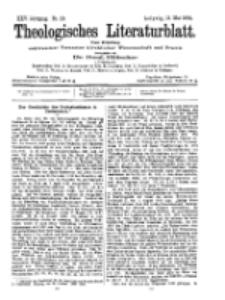 Theologisches Literaturblatt, 13. Mai 1904, Nr 20.
