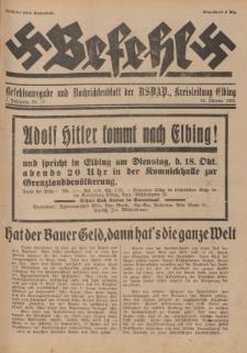 Befehl Nr. 18, 12. Oktober 1932
