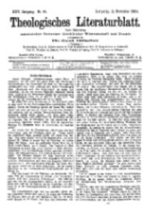 Theologisches Literaturblatt, 11. November 1904, Nr 46.