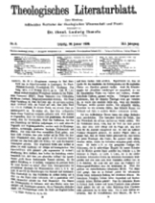 Theologisches Literaturblatt, 30. Januar 1920, Nr 3.
