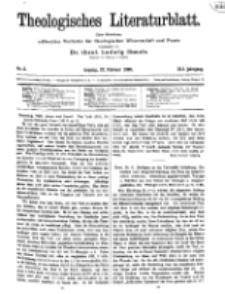 Theologisches Literaturblatt, 27. Februar 1920, Nr 5.