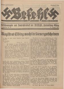 Befehl Nr. 23, 29. Oktober 1932
