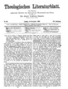 Theologisches Literaturblatt, 19. November 1920, Nr 24.
