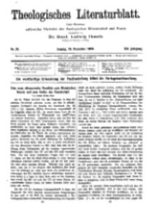 Theologisches Literaturblatt, 24. Dezember 1920, Nr 26.