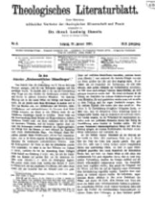 Theologisches Literaturblatt, 21. Januar 1921, Nr 2.