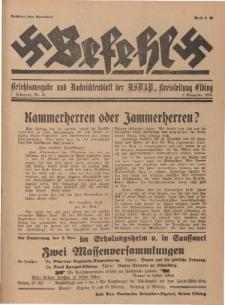 Befehl Nr. 24, 2. November 1932