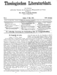Theologisches Literaturblatt, 17. März 1922, Nr 6.