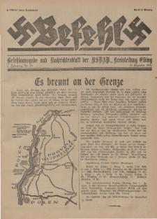 Befehl Nr. 32, 31. Dezember 1932