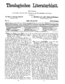 Theologisches Literaturblatt, 10. Juni 1927, Nr 12.