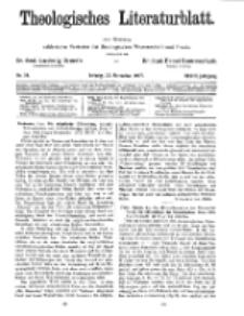Theologisches Literaturblatt, 25. November 1927, Nr 24.