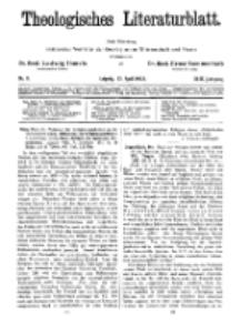 Theologisches Literaturblatt, 13. April 1928, Nr 8.