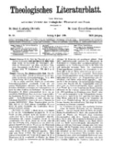 Theologisches Literaturblatt, 8. Juni 1928, Nr 12.
