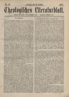 Theologisches Literaturblatt, 22. Oktober 1880, Nr 42.