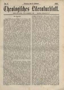 Theologisches Literaturblatt, 24. Februar 1882, Nr 8.