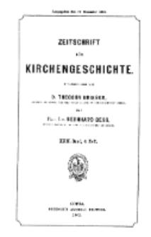 Zeitschrift für Kirchengeschichte, 1901, Bd. 22, H. 4.
