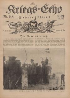 Kriegs-Echo: Wochen=Chronic, 8. Juni 1917, Nr 148.