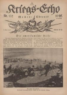 Kriegs-Echo: Wochen=Chronic, 6. Juli 1917, Nr 152.