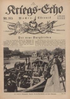 Kriegs-Echo: Wochen=Chronic, 5. Oktober 1917, Nr 165.