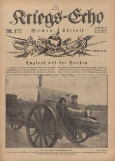 Kriegs-Echo: Wochen=Chronic, 23. November 1917, Nr 172.