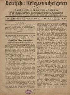 Deutsche Kriegsnachrichten (D.K.), Mittwoch, 16. Mai 1917, Nr 80.