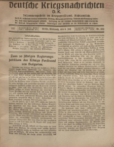 Deutsche Kriegsnachrichten (D.K.), Mittwoch, 4. Juli 1917, Nr 100.