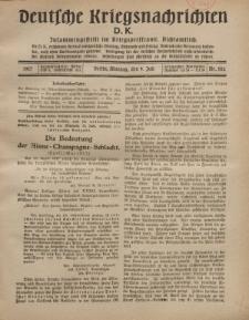 Deutsche Kriegsnachrichten (D.K.), Montag, 9. Juli 1917, Nr 102.