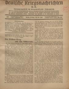 Deutsche Kriegsnachrichten (D.K.), Freitag, 20. Juli 1917, Nr 107.