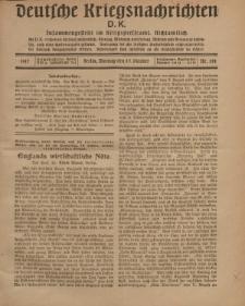 Deutsche Kriegsnachrichten (D.K.), Montag, 15. Oktober 1917, Nr 144.