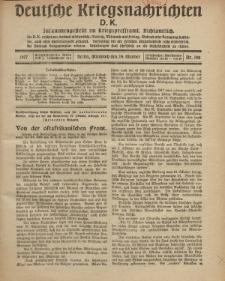 Deutsche Kriegsnachrichten (D.K.), Mittwoch, 24. Oktober 1917, Nr 148.