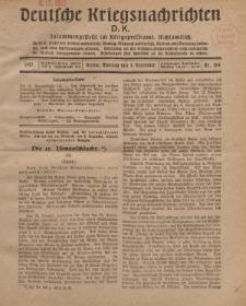 Deutsche Kriegsnachrichten (D.K.), Montag, 3. Dezember 1917, Nr 164.