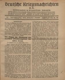 Deutsche Kriegsnachrichten (D.K.), Freitag, 7. Dezember 1917, Nr 166.