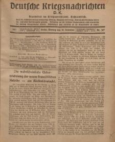 Deutsche Kriegsnachrichten (D.K.), Montag, 10. Dezember 1917, Nr 167.
