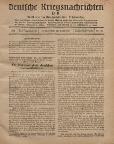 Deutsche Kriegsnachrichten (D.K.), Freitag, 8. Februar 1918, Nr 191.