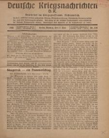 Deutsche Kriegsnachrichten (D.K.), Montag, 27. Mai 1918, Nr 234.