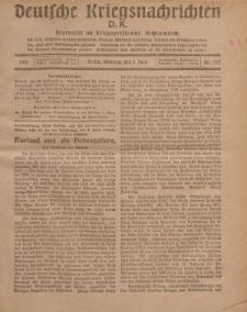 Deutsche Kriegsnachrichten (D.K.), Montag, 3. Juni 1918, Nr 237.