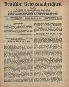 Deutsche Kriegsnachrichten (D.K.), Freitag, 28. Juni 1918, Nr 248.
