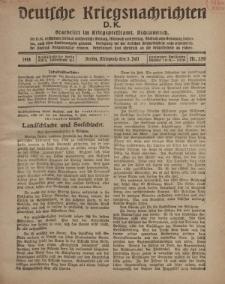 Deutsche Kriegsnachrichten (D.K.), Mittwoch, 3. Juli 1918, Nr 250.