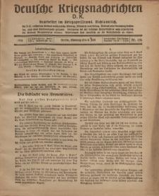 Deutsche Kriegsnachrichten (D.K.), Montag, 8. Juli 1918, Nr 252.